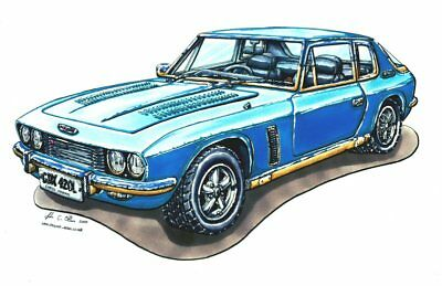 Blue Jensen Interceptor Cross Stitch Chart Bn!
