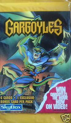 Gargoyles Trading Card Booster Pack