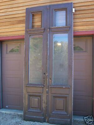 Victorian Brownstone Entry Doors