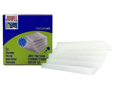 6 Boxes of Juwel Standard Poly Pads (5 in a box) Genuine Product