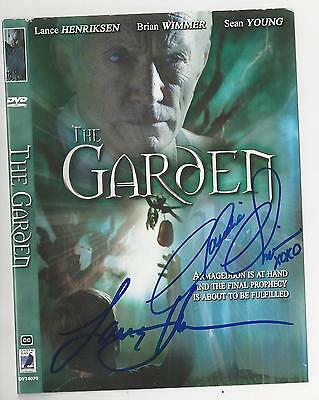 "DVD ""The Garden"" signed by Lance Henriksen & Claudia Christian"