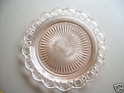 Old Colony Dinner Plate - Pink Also Known As Lace Edge