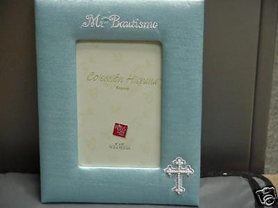 Russ Berrie Mi Bautismo 4x6 Picture Frame NEW