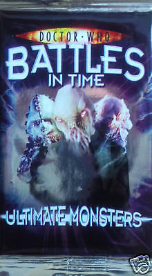 Doctor Who Battles In  Time(Ultimate Monsters) Booster