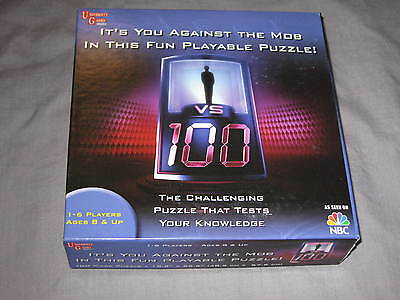 1 vs.100 Puzzle Game Educational TV Learning Fun Challenging NEW!