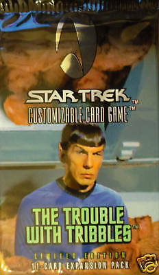 Star Trek The Trouble With Tribbles Limited Booster Pk