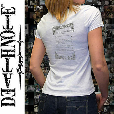 Death Note: T-Shirt How to Use Damen Gr.L