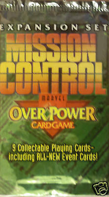 Marvel Mission Control Overpower Booster Pack