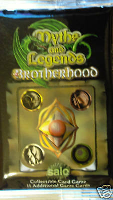 Myths & Legends Brotherhood Ccg Booster Pack