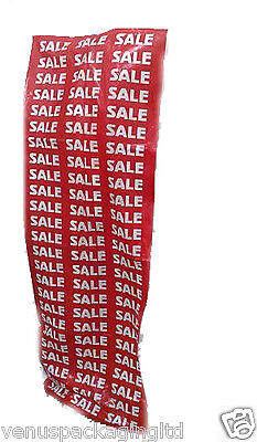 """Display Bust Bags Print In Red For Mannequins """"sale"""""""