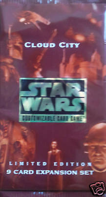 Star Wars Ccg Cloud City Trading Card Booster Pack