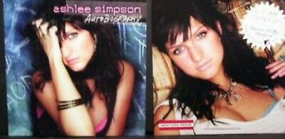 ASHLEE SIMPSON Autobiography PROMO Two Sided Poster PIECES OF ME Shadows JESSICA