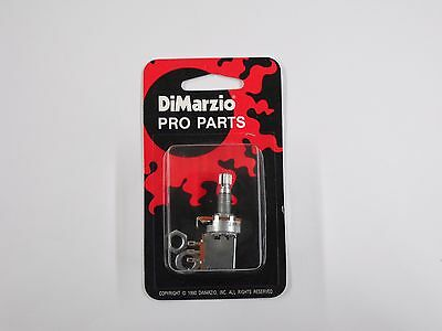 dimarzio ep1200pp 250k split shaft push pull pot audio taper dimarzio 250k push pull potentiometer pot ep1200pp