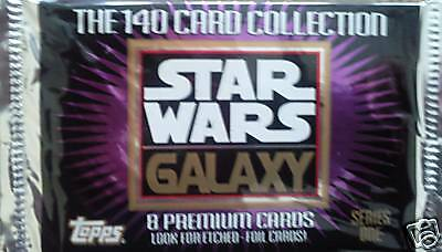 Star Wars Galaxy  Trading Card Booster Pack