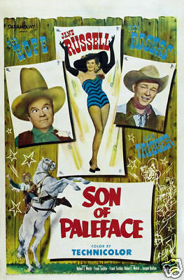 Son of paleface Roy Rogers vintage movie poster print