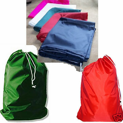 "12  Nylon Laundry Bags 30x40"" With Draw Cord & Closure"