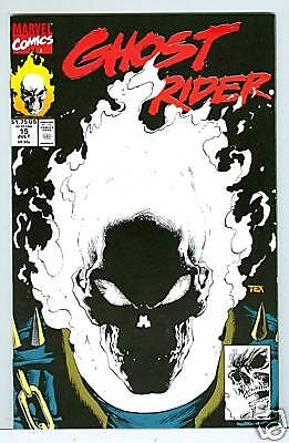 Ghost rider #15 glow in dark cover 1991
