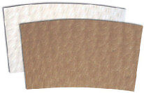 Coffee Cup Sleeve Java Jacket 1000 cs Recycled White