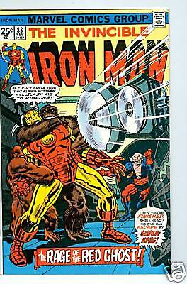 Iron Man #83 - 1976 Red Ghost