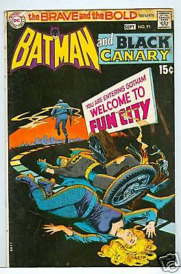 Brave and the Bold #91 Black Canary 1970