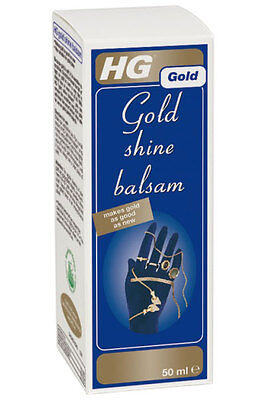 HG Hagesan Gold Shine Balsam Removes Scratches - 50ml