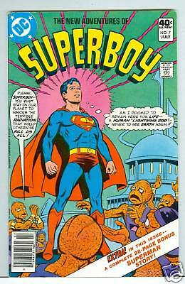 New Adventures of Superboy #7 - 1980