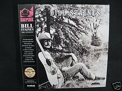 BILL STAINES/S.T 3rd Album MINI LP CD NEW (Country folk