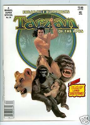 Marvel Comics Super Special #29 Tarzan 1983