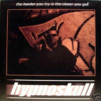 """Hypnoskull - the harder you try is...EP 45"""" 3 tr. lim.ed."""