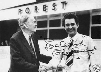 Brian Clough Nottingham Forest 1st day 10x8 Photo
