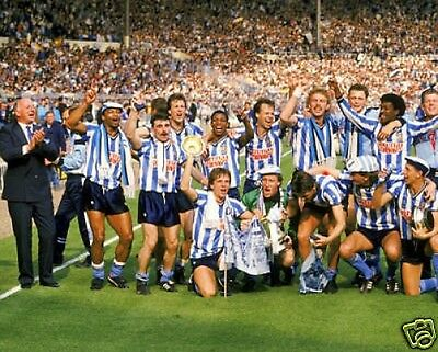 Coventry City 1987 FA Cup Winners 10x8 Photo