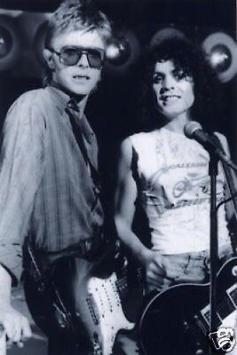 David Bowie And Marc Bolan T Rex Awesome 10x8 Photo