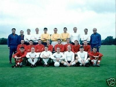 England 1966 World Cup Winners Squad 10x8 Photo