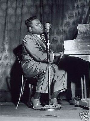 FATS DOMINO PERFORMING LIVE 1957 10x8 Photo