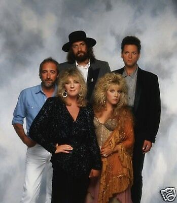 Fleetwood Mac Awesome New Colour 10x8 Photo
