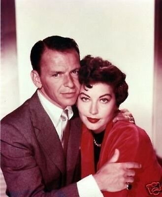 Frank Sinatra and Ava Gardner GREAT COLOUR 10x8 Photo