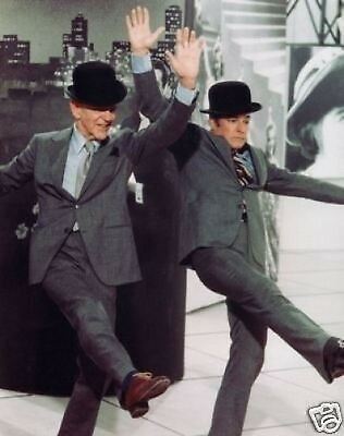 Fred Astaire and Gene Kelly COLOUR 10x8 Photo