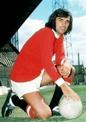 George Best Manchester United #2 10x8 Photo