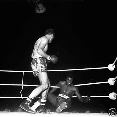 Henry Cooper Cassius Clay 1963 Knock Down 10x8 Photo