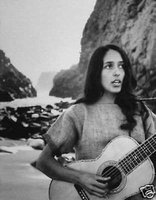 Joan Baez Legend 10x8 Photo