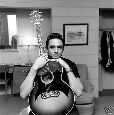 Johnny Cash Fantastic Young Man 10x8 Photo