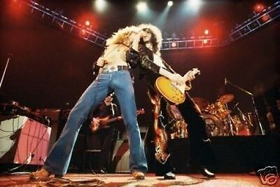 Led Zeppelin Fantastic New Stage 10x8 Photo