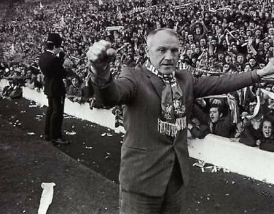 Liverpool Bill Shankly Last Ever Match 10x8 Photo