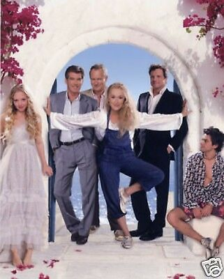 Mamma Mia Meryl Streep Pierce Brosnan 10x8 Photo