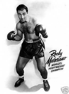 Rocky Marciano Publicity Boxing #2 10x8 Photo
