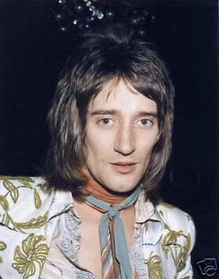 Rod Stewart Fantastic Early New 10x8 Photo