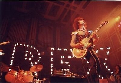 T REX COLOUR MARC BOLAN LIVE ON STAGE 10x8 Photo
