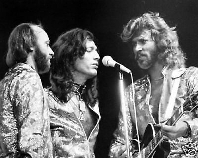The Bee Gees Fantastic BW 10x8 Photo