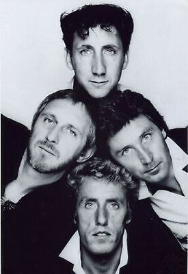 THE WHO 10x8 Photo