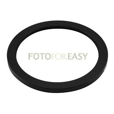 Black 62mm to 52mm 62mm-52mm Step Down Filter Ring